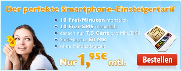 d2 o2 Smartphone surfen Tarife Vodafone