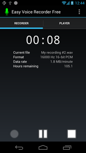 Android Pro Recorder System Tool Vodafone voice