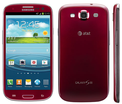 Android galaxy s3 rot s3 Samsung usa