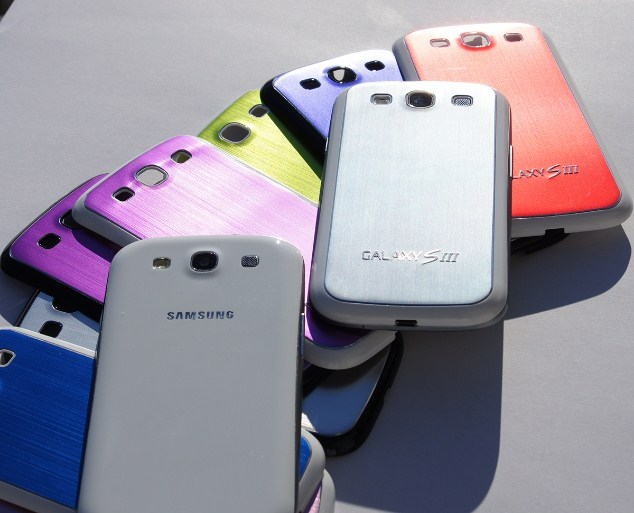 Android back cover galaxy s3 sgs3 test Video