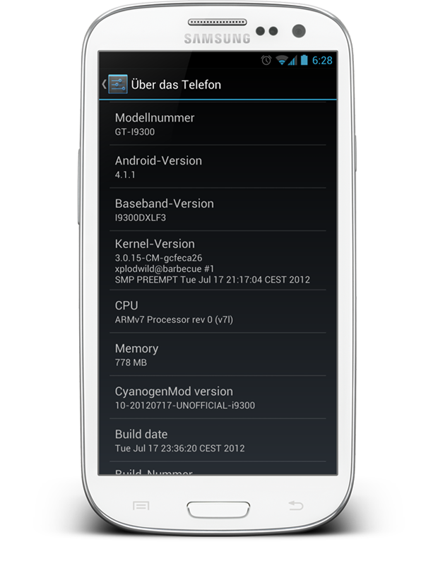 Android Cyanogenmod 10 Firmware Jelly Bean modding root