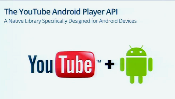 Android api Apps videos YouTube