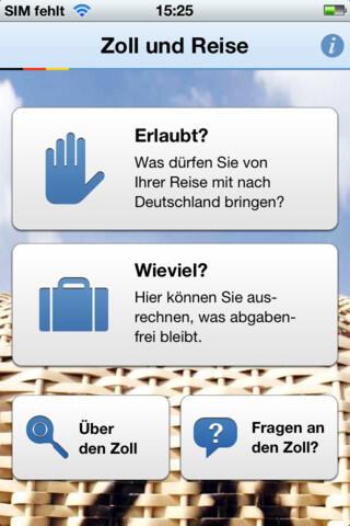 app store Apple iOS iphone mobile Reise zoll