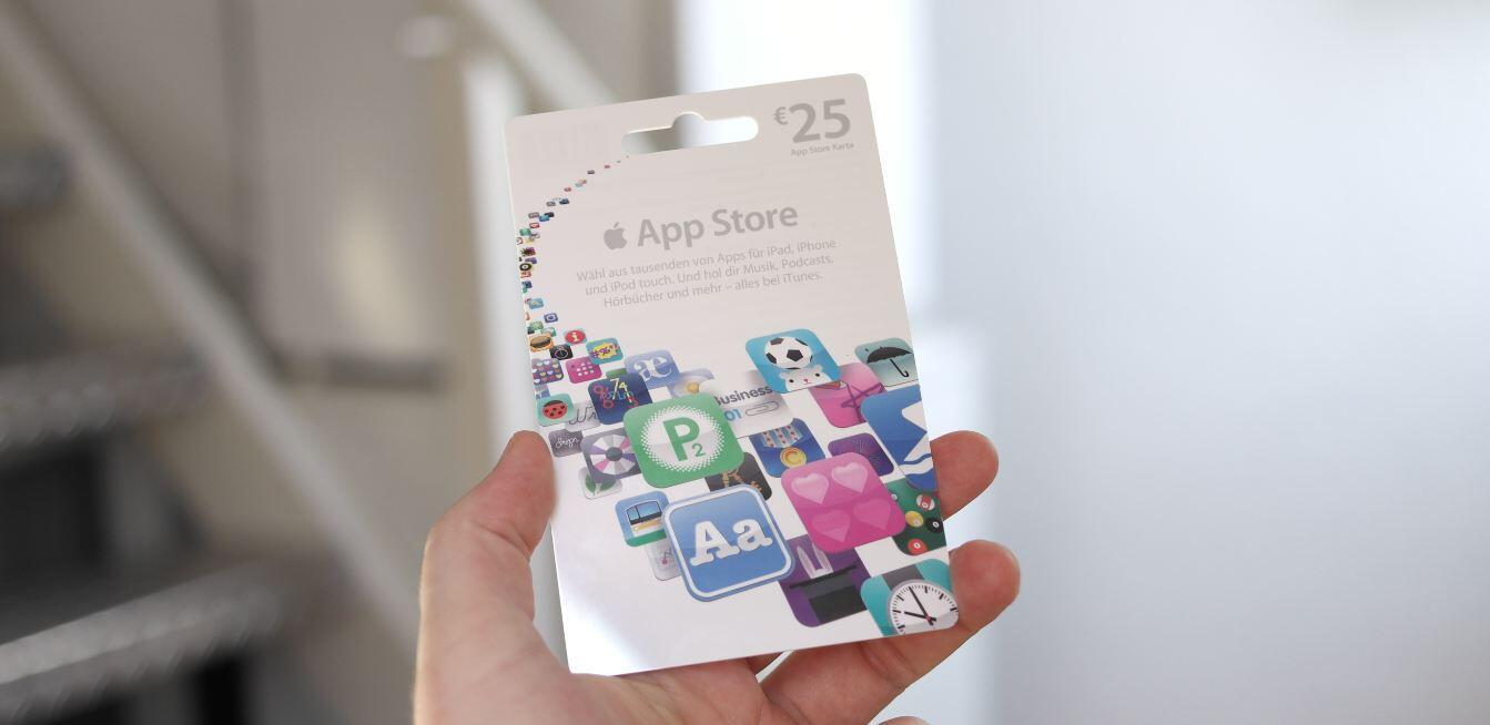Apple iOS iPad iphone itunes karte