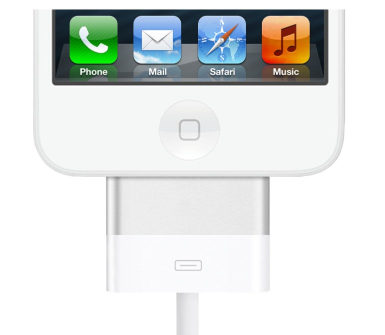 adapter Apple Dock iOS iPad iphone iPod Leak