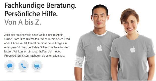 Apple einsteiger iPad iphone service