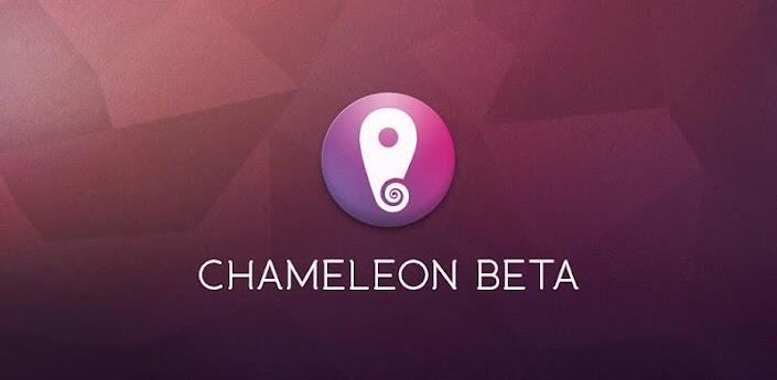 Android app Chameleon homescreen oberfläche