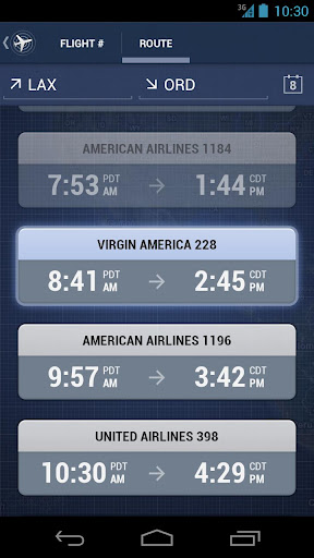 Android flight Flug free tracking