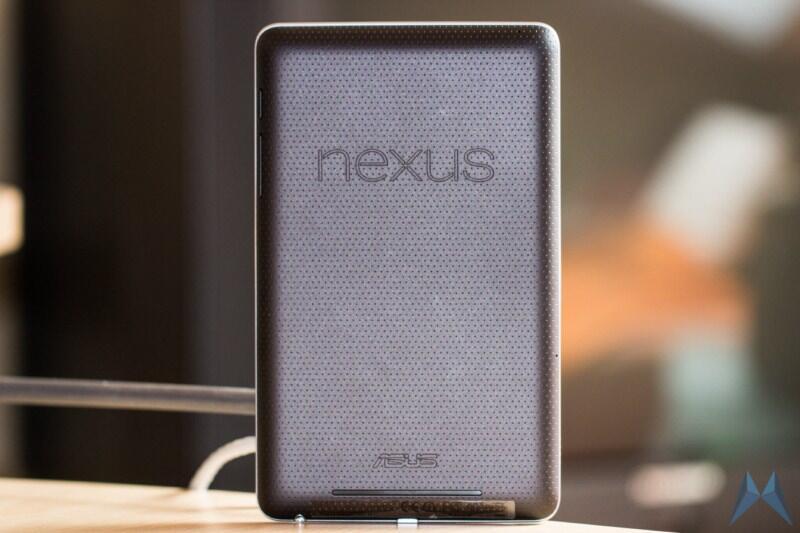 Android datum Google nexus 7