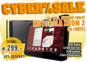 Android cybersale deal Motorola tablet xoom