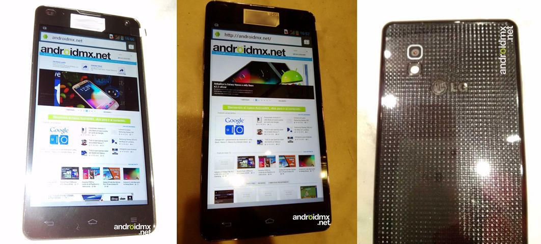 Android LG optimus g quad core