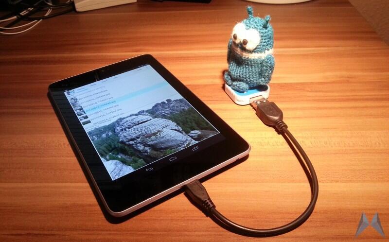 Android Asus nexus nexus 7 otg usb