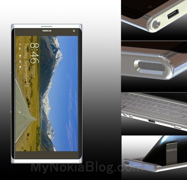 Konzept Nokia Windows Phone