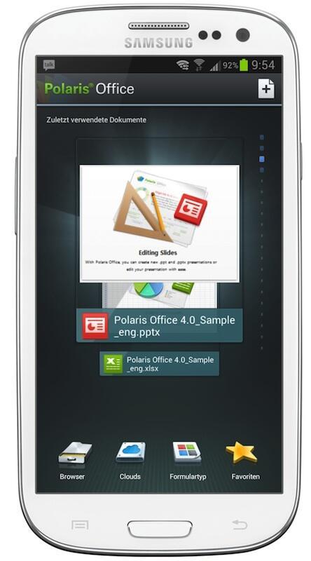 Android Kostenlos office Samsung Galaxy S3 sgs3