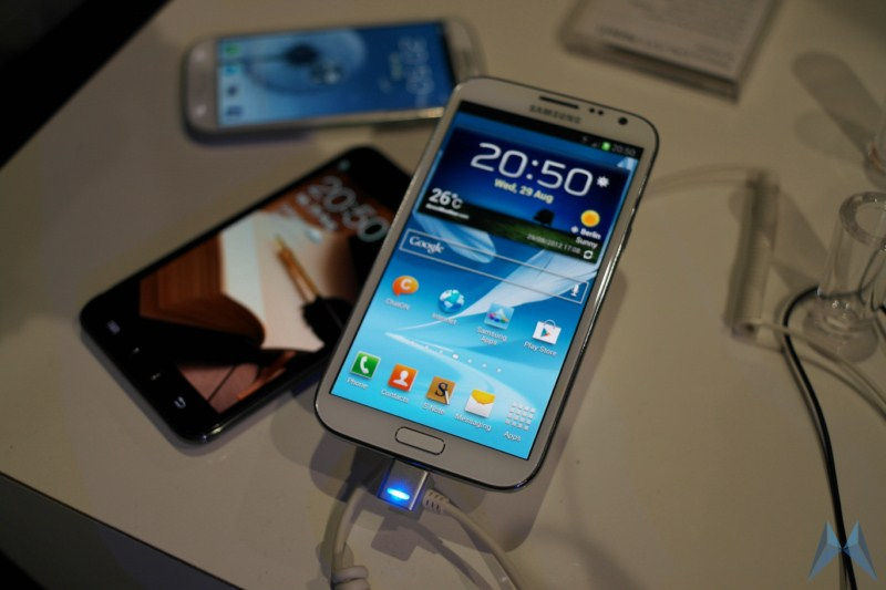 Android galaxy note ifa13 Samsung