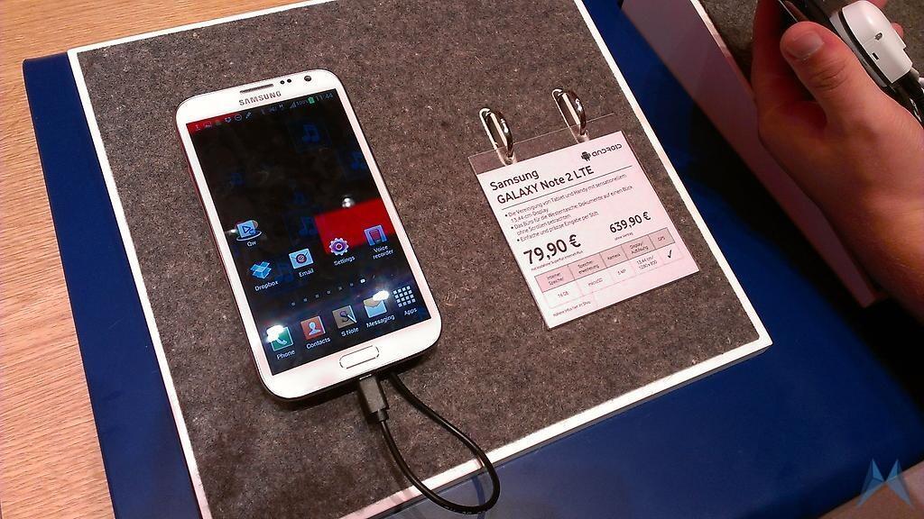 Android deutschland galaxy IFA2012 note 2 preis Samsung Vodafone