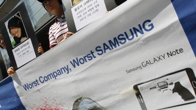 Android kritik Samsung