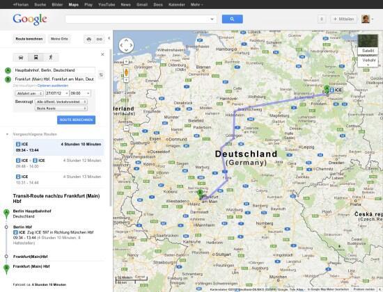 Android Google karten Maps navi now ÖPNV Verkehr