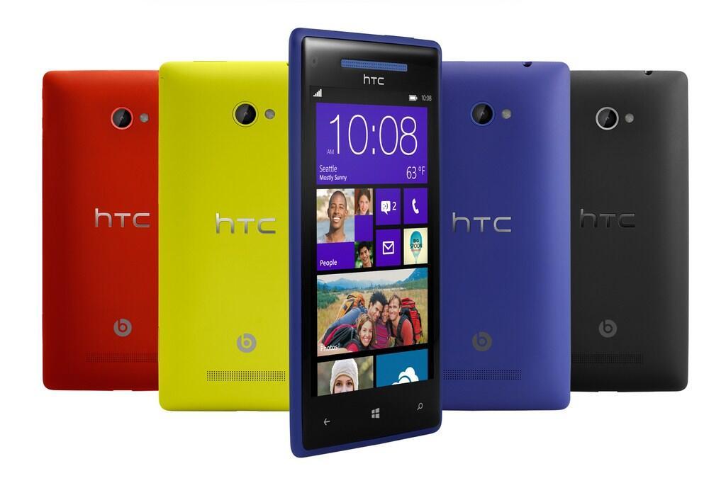 8X HTC verkauf Windows Phone