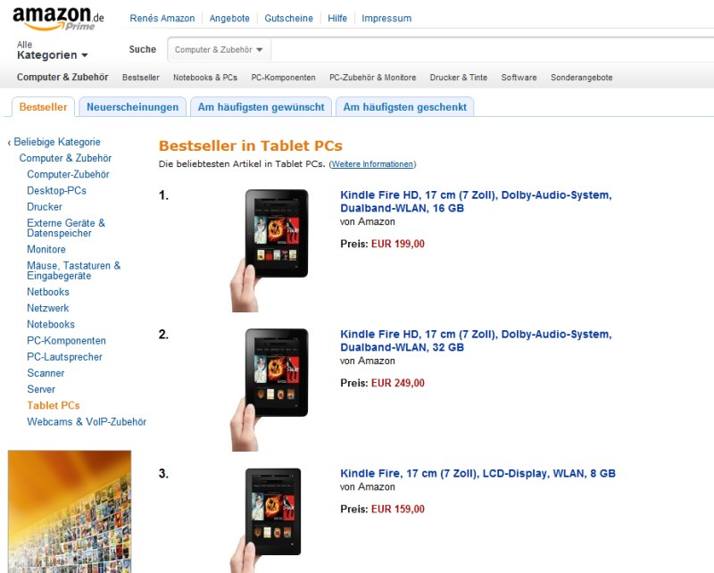 amazon Android Fire fire hd kindle tablet