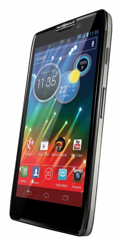 Android HD kitkat Motorola Razr Update