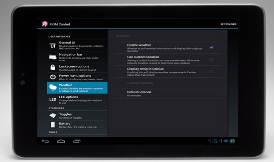Android AOKP Jelly Bean modding nexus 7