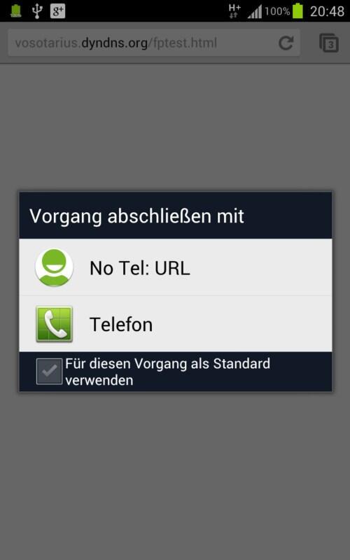 Android fail hack Samsung Sicherheit tel URL