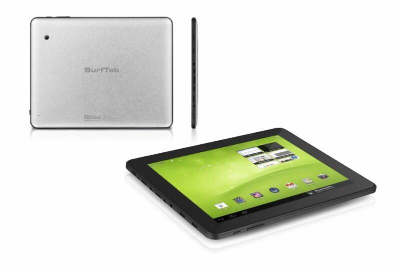 Android SurfTab tablet Trekstor