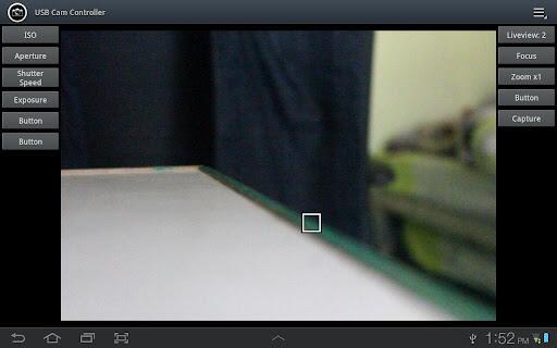 Android canon EOS live view Nikon USB-OTG