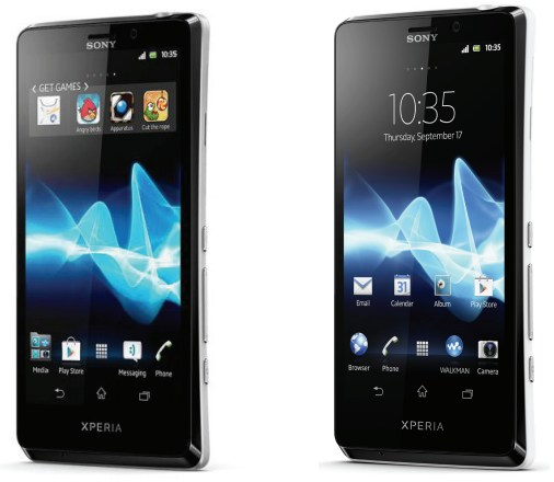 Android o2 Sony Xperia T
