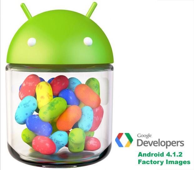4.1.2 Android Factory Images Firmware Galaxy Nexus nexus nexus 7