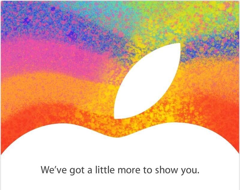 Apple event iMac iOS iPad Mini