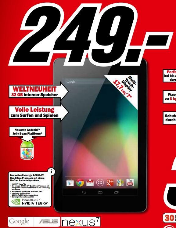 32 Android Google media markt nexus nexus 7 play tablet
