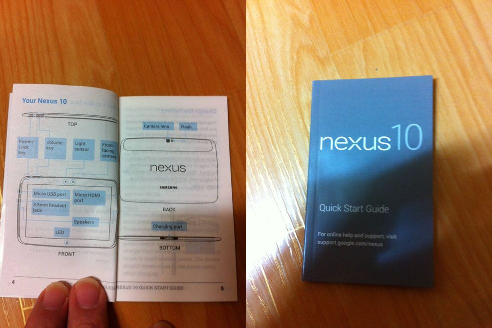 Android Google Nexus 10 Samsung