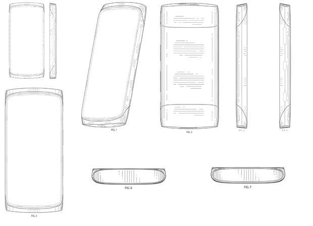 design Leak Nokia Patent Windows Phone