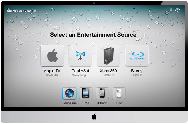 Apple iOS Konzept TV