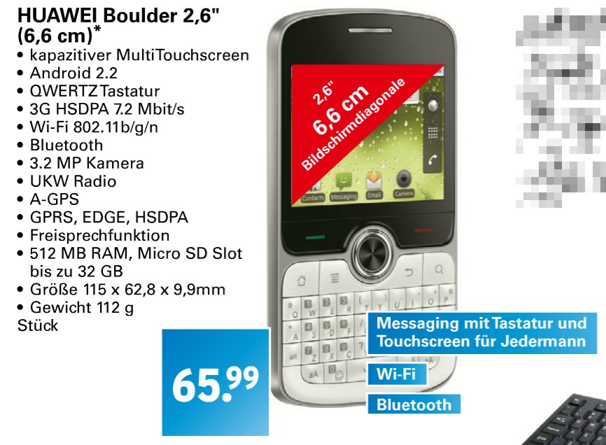 Android billig boulder Huawei netto