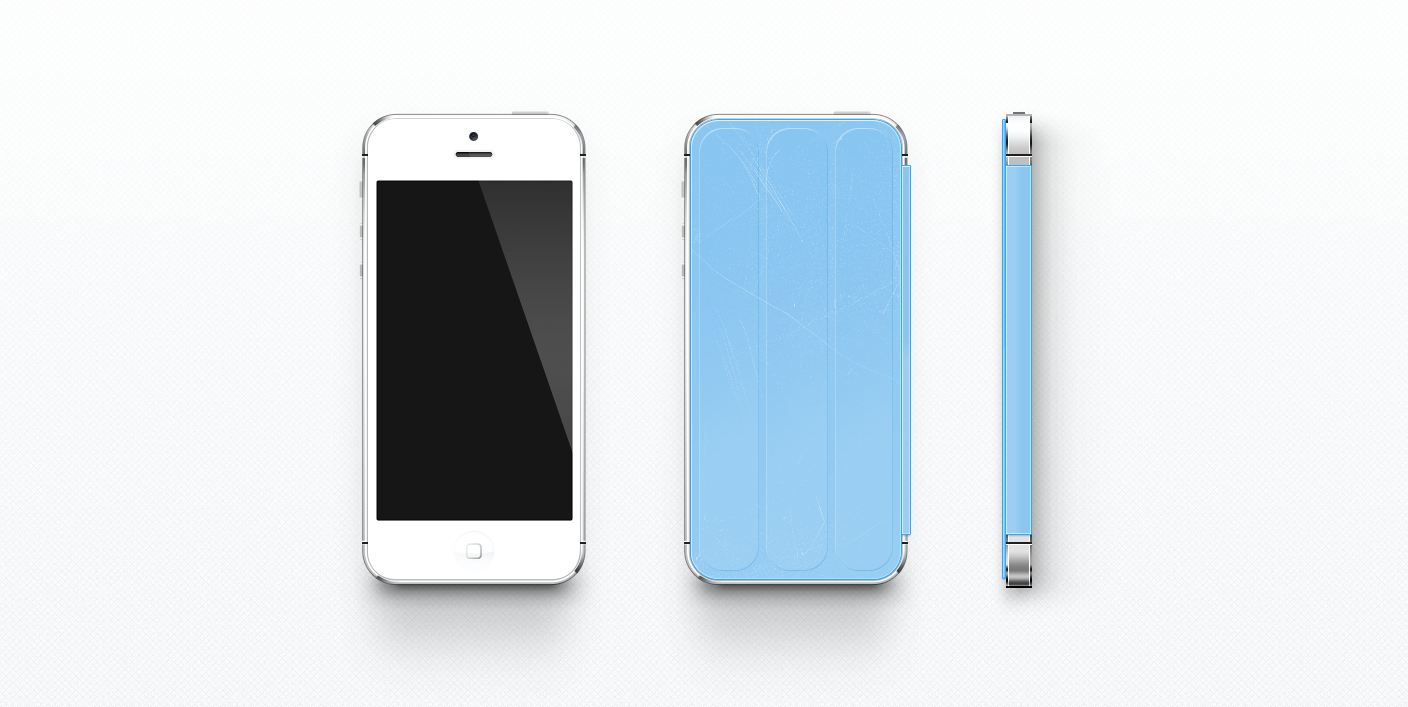 Apple iOS iphone smart cover