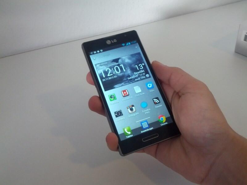Android erster eindruck Google LG optimus Optimus L9 Smartphone test