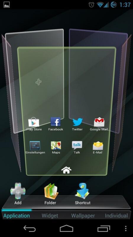 Android app go launcher Google homescreen launcher