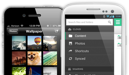 Android iOS mac sugarsync Windows Windows Phone