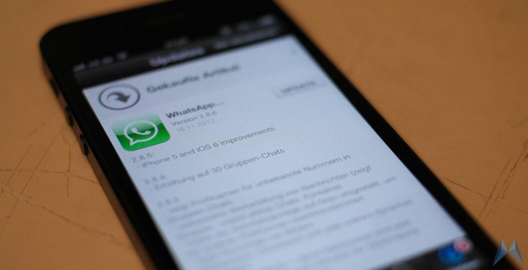 Apple iOS iphone 5 whatsapp