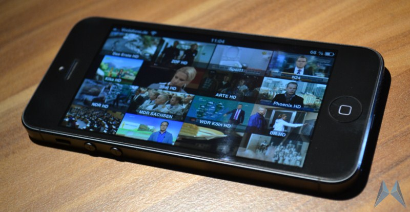 Android iOS Live streaming TV Update zattoo