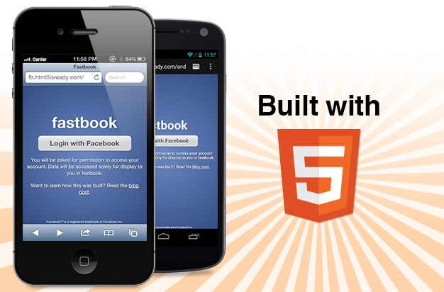 Android Apps demo facebook HTML5 iOS social
