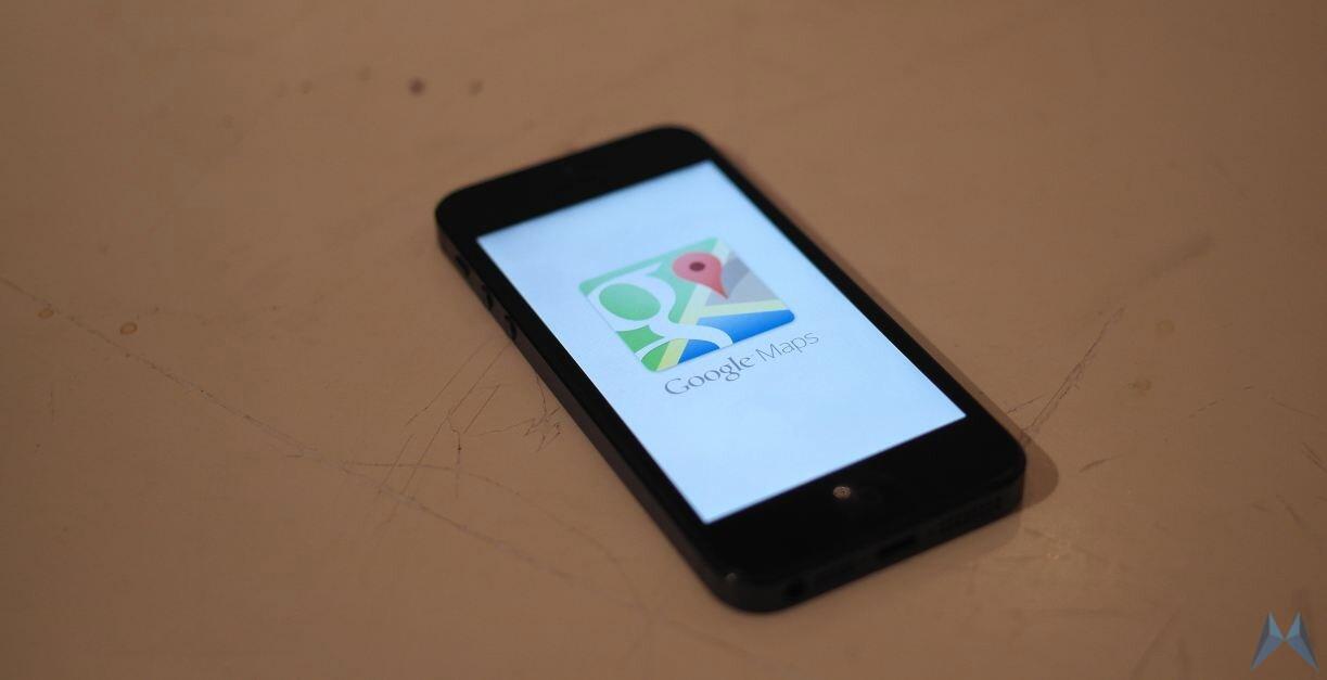 Apple Google iOS iphone Maps Update