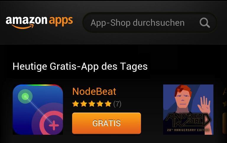 amazon Android appstore Gratis-App des Tages Kostenlos