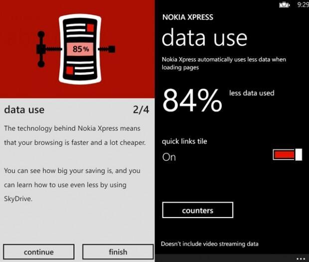 app Browser microsoft Nokia Windows Phone Xpress