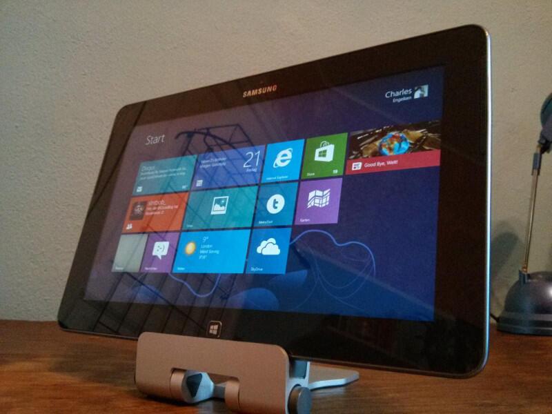 erster eindruck microsoft Samsung Testbericht Windows Windows RT