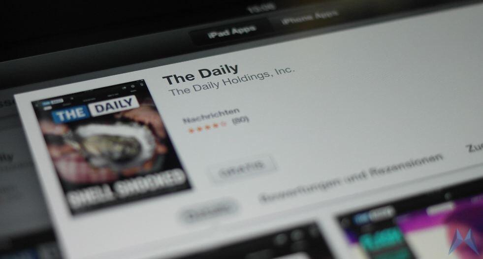 Android eingestellt iOS iPad The Daily