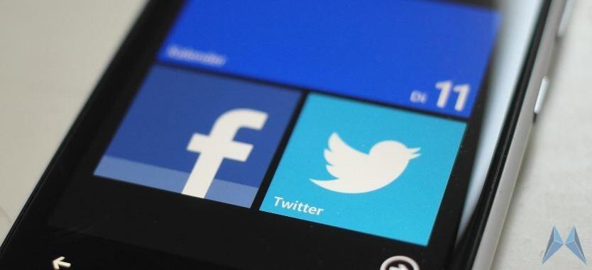 facebook social Update Windows Phone